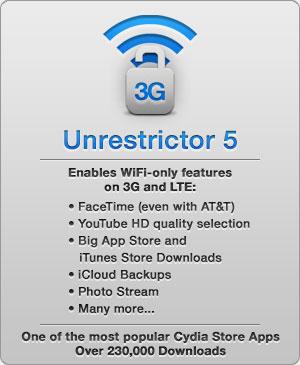 GRATUIT UNRESTRICTOR TÉLÉCHARGER 3G